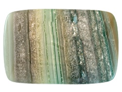 CAC005<br>Uruguay Saturn Chalcedony Avg 11.00ct 20x13mm Rectangular Cushion Cabochon Colors Will Var