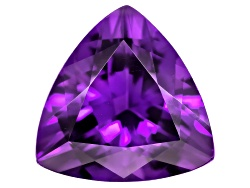 AST136<br>Untreated Amethyst Avg 2.50ct 10mm Trillion