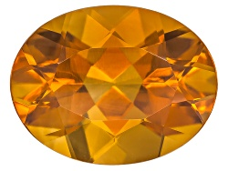 CSV001<br>Madeira Citrine Avg 1.40ct 9x7mm Oval