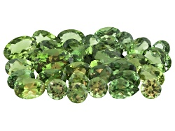 GP6163<br>Untreated Madagascan Green Apatite Parcel Of 15.00ctw Mm Varies Mixed Shape