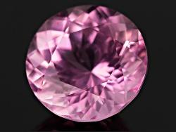 FMR022<br>Pink Mahenge Spinel-fluorescent Min 1.10ct 6.5mm Round