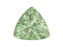 GA028<br>Tanzanian Mint Tsavorite Garnet-fluorescent Minimum .20ct 4mm Trillion