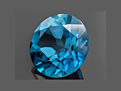 TOR092<br>London Blue Topaz 4.25ct Minimum 10mm Round
