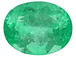 EMV2483<br>Colombian Emerald 11.52ct 16.78x13.15mm Oval