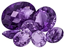 GP6239<br>Moroccan Amethyst 25.00ctw Parcel Mixed Shapes & Sizes