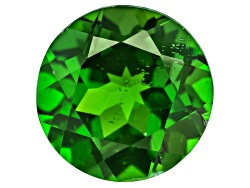 CDR466<br>Russian Chrome Diopside Min 2.25ct 8mm Round