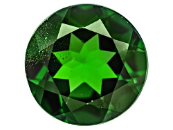 CDR470<br>Russian Chrome Diopside Min 3.00ct 9mm Round