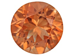 SN046<br>Red Oregon Sunstone From Butte Mine 1.40ct Minimum 8mm Round Mixed Cut Color Varies