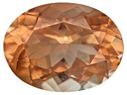 SN048<br>Red Oregon Sunstone From Butte Mine .85ct Minimum 8x6mm Oval Mixed Cut Color Varies