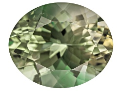 SN055<br>Green Oregon Sunstone From Butte Mine 3.65ct Minimum 12x10mm Oval Mixed Cut Color Varies