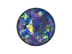 OP299<br>Australian Opal Triplet 12mm Round Faceted