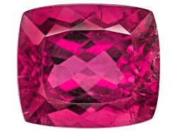 TU055<br>Mozambique Rubellite Tourmaline 8.52ct Minimum 13.53x11.86mm Rectangular Cushion