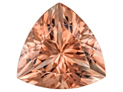 SN093<br>Red Oregon Sunstone From Butte Mine 1.20ct Minimum 8mm Trillion Brilliant Cut Color Varies