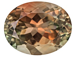 SN167<br>Bi-color Oregon Sunstone From Butte Mine 2.00ct Minimum 10x8mm Oval Mixed Cut Color Varies