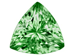 TS082<br>Tanzanian Tsavorite Garnet .50ct Minimum 5.5mm Trillion