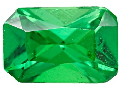 TS193<br>Tanzanian Tsavorite Garnet .50ct Minimum 6x4mm Emerald Cut