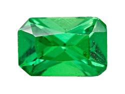 TS193<br>Tanzanian Tsavorite Garnet .50ct Minimum 6x4mm Emerald Cut